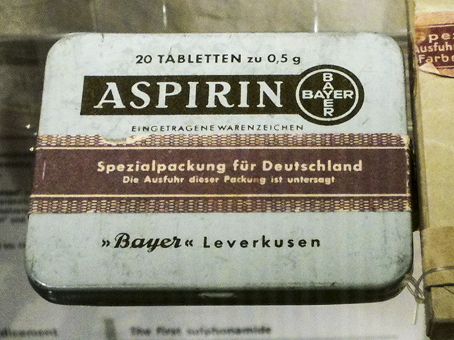 Aspirin from Germany