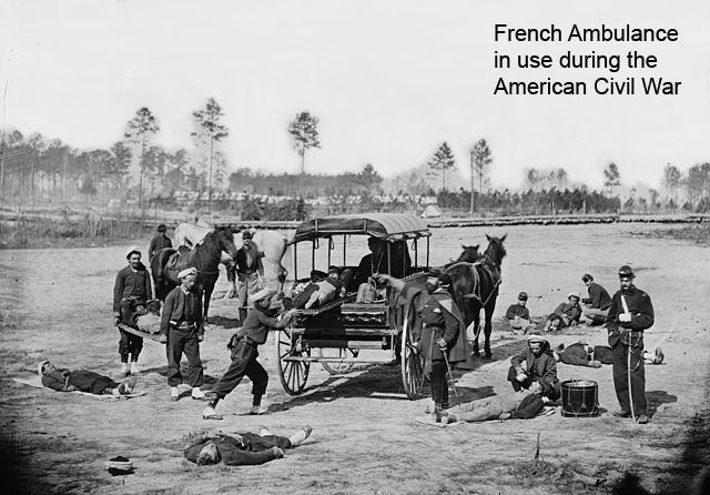 French Ambulance during American Civil War