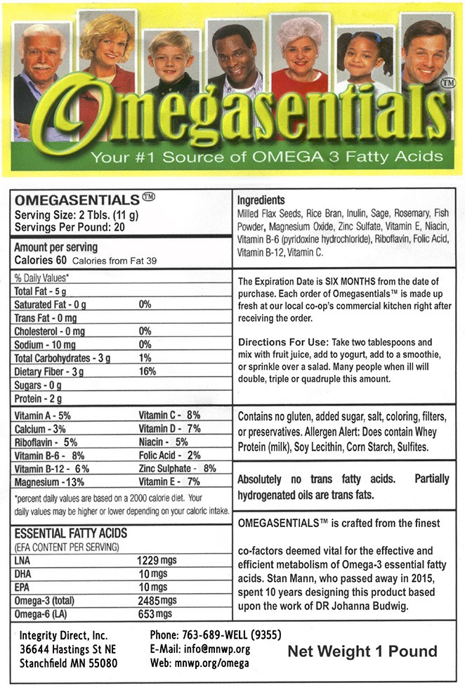 Omegasentials Label