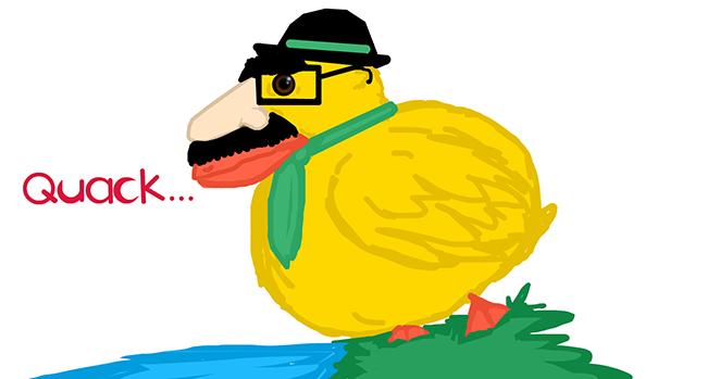 A quacker.