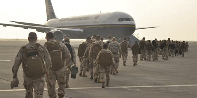 Troops Coming Home