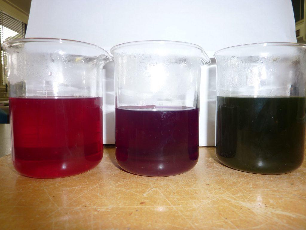 Cabbage acid/base indicators