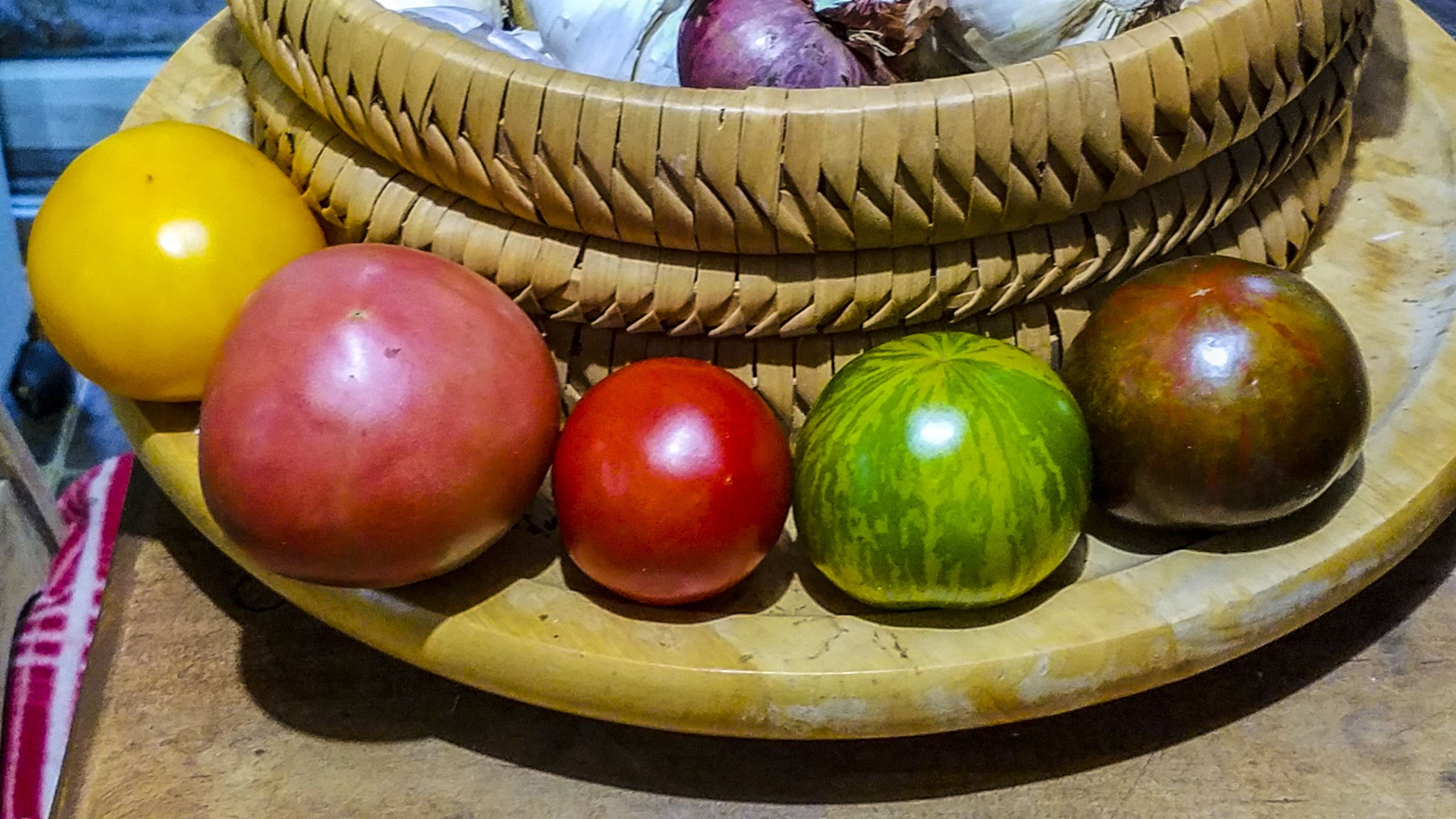 Tomatoes, a variety